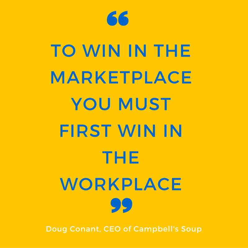 Doug Conant (To win in the marketplace...)